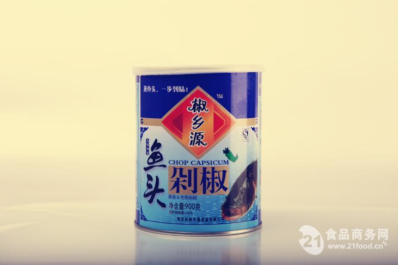 鱼头青剁椒 900克