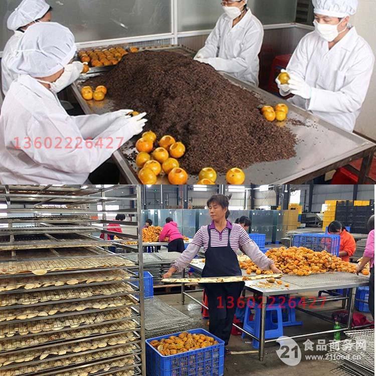 2016年柑普茶烘干机新会陈皮柑普茶干燥机