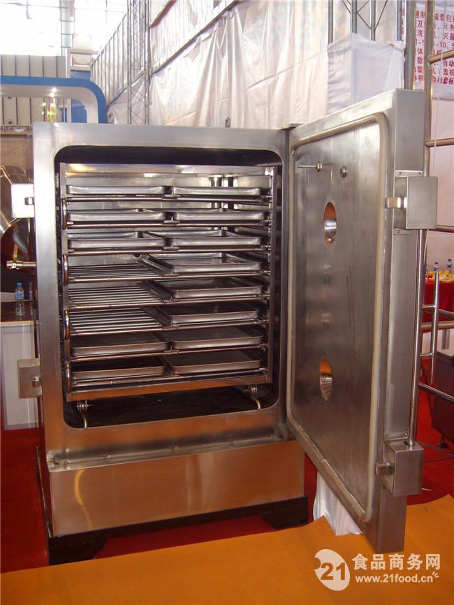 平板热水加热带冷凝器回收真空干燥箱
