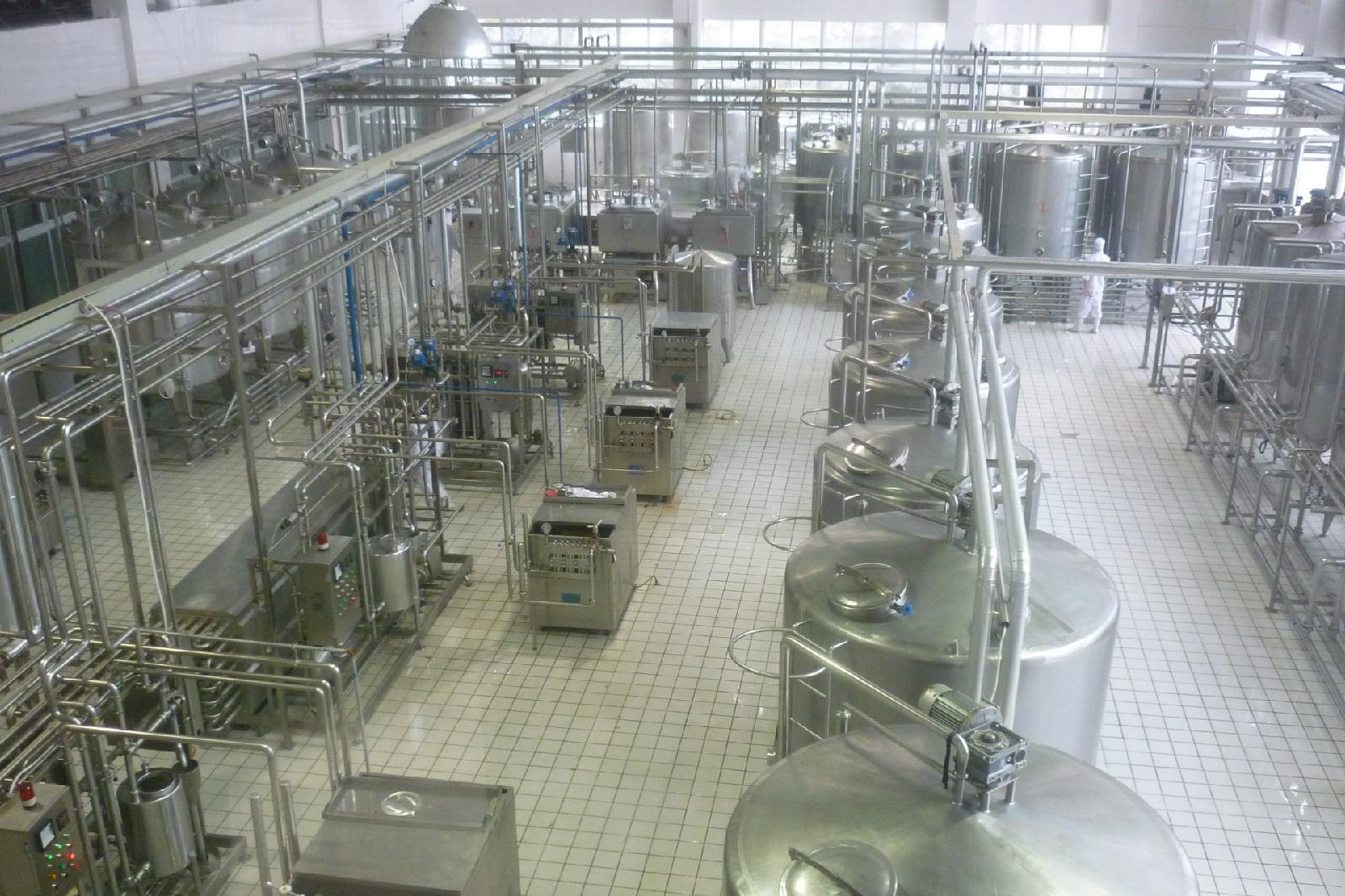纯奶、酸奶生产线