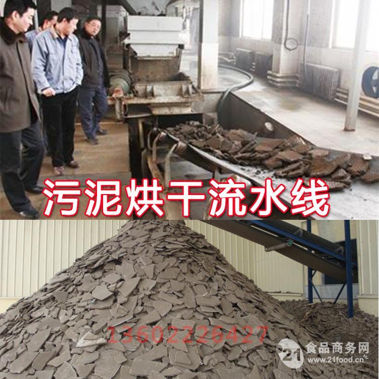 污泥低温干化流水线 新型污泥干化处理机