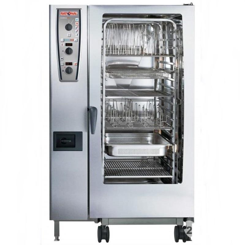 RATIONAL万能蒸烤箱CMP202G半自动燃气型