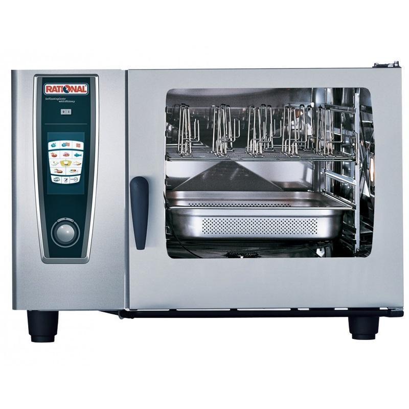 德国万能蒸烤箱RATIONAL全自动6盘SCC62第五代