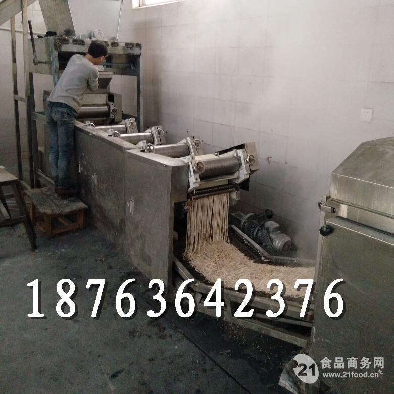 熟面机 熟面条加工设备 熟面蒸煮流水线