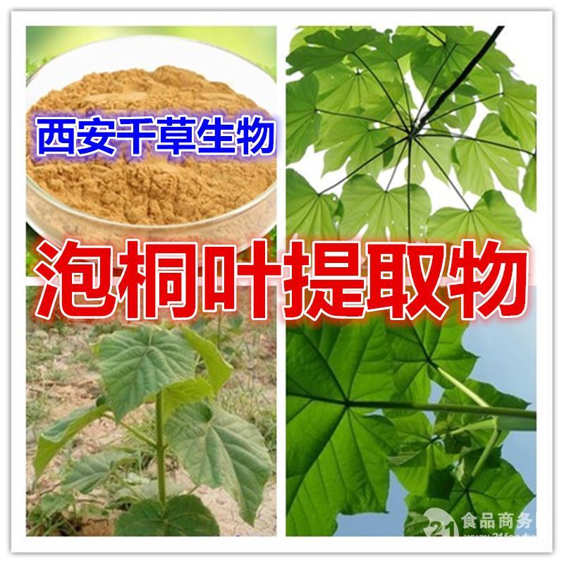 泡桐叶提取物 纯天然浓缩粉