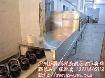 微波豆腐乳杀菌设备