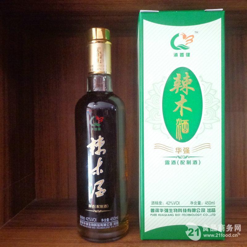 辣木新产品辣木酒42度450ML养生酒口感好补充人体营养健康酒