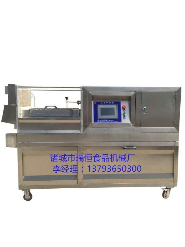 供应品牌千页豆腐切块机 豆干切条机
