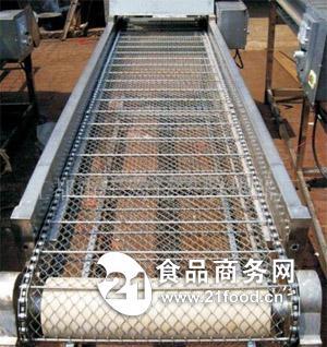 油炸食品网带输送机|薯片网带输送机|冷却网带输送机