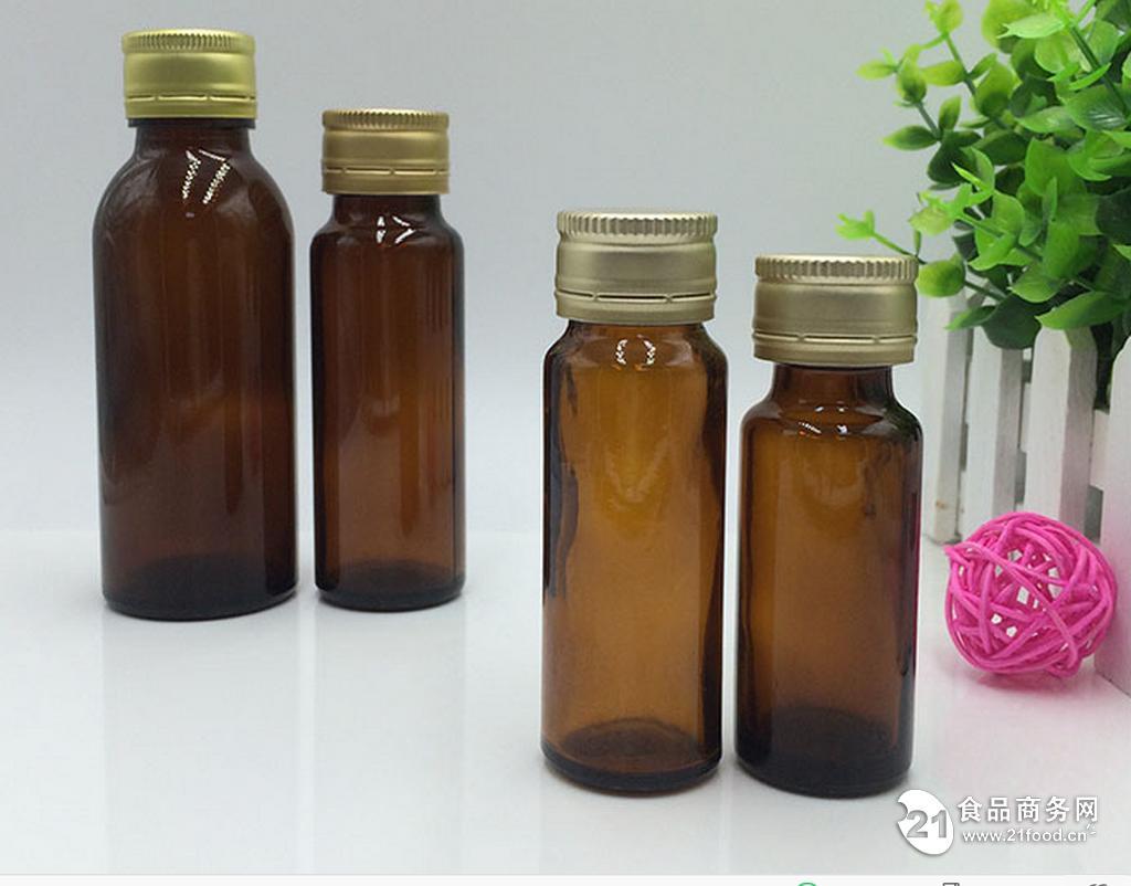 棕色酵素口服液玻璃瓶 50ml图片