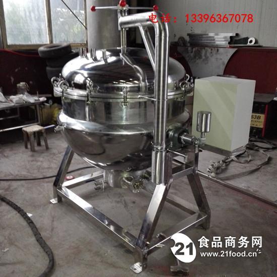 大型自动高温高压粽子蒸煮锅型号全厂家可定制