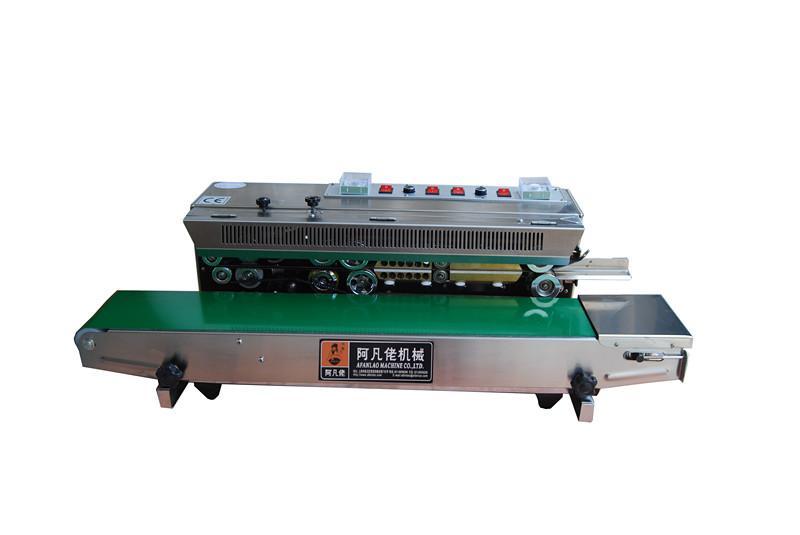 FRM-980LW型连续式墨轮印字封口机