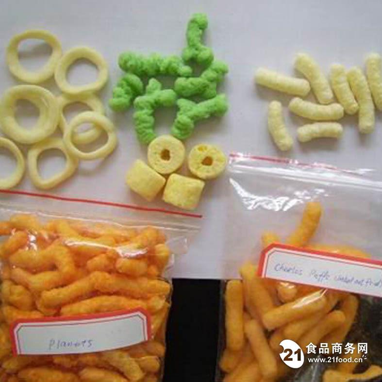 膨化小食品机械生产设备
