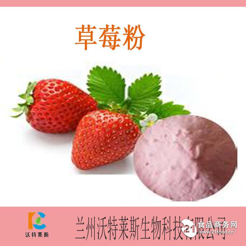 纯天然草莓粉 厂家直销 基地种植 专业提取