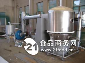 果粉冲剂沸腾干燥设备 高效沸腾干燥机 速溶颗粒烘干