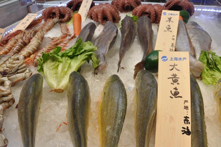各类海产品