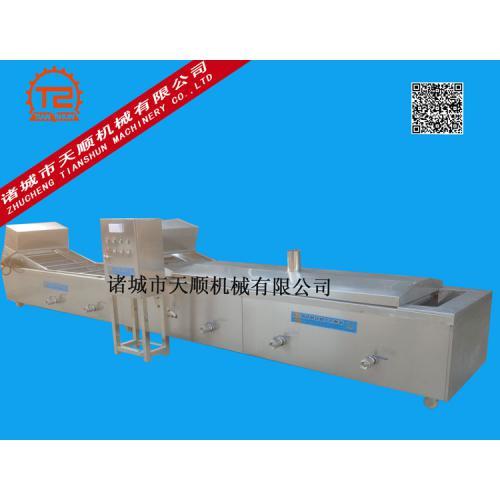 TSPT-5800长角豆(豆角)连续式漂烫冷却流水线