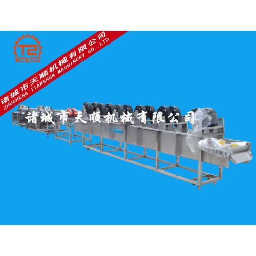 TSQX-5800艾叶省人工气泡清洗机(清洗烘干成套设备)