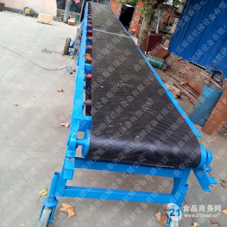 优质爬坡皮带输送机带式装卸设备价格