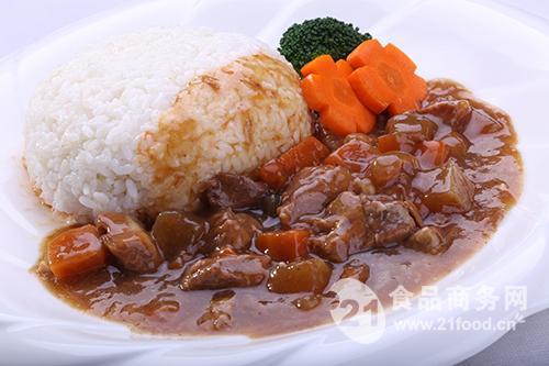 红烧牛肉饭