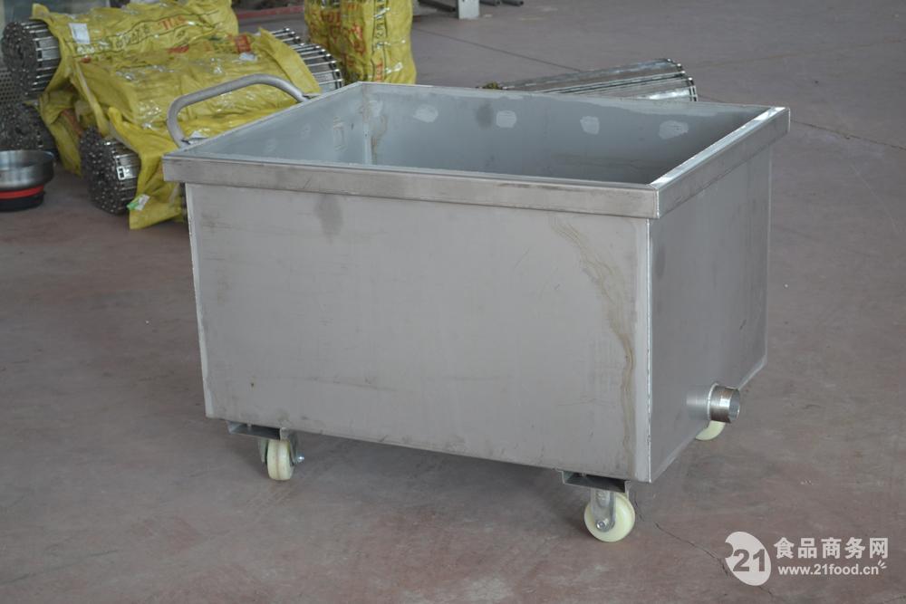 肉类等食品加工车间专用不锈钢槽车厂家直销