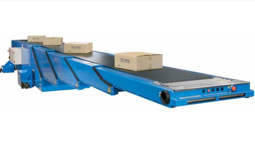 厂家加工定制 经济型装车输送机 移动式大型伸缩皮带机图片