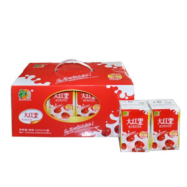 大红枣牛奶