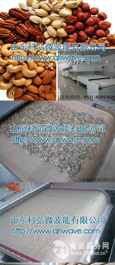 微波荞麦除湿干燥设备
