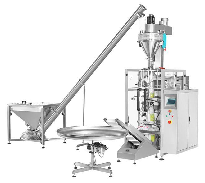 供应面粉、淀粉、小麦粉自动螺杆计量包装机