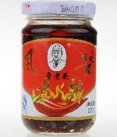 年货晋老头风味辣椒酱特产酱200g