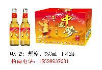 中国梦330毫升啤酒