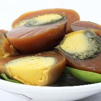 四川特产邓师傅广安盐皮蛋散装60g咸鸭蛋黄