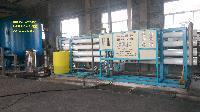 山东川一40T全自动蒸汽锅炉用软化水设备去离子水设备