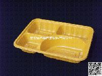 C35 一次性餐具 四格 便当盒 打包盒 外卖盒