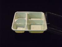 cmxbz-044 四格餐盒 一次性餐具 多格快餐盒