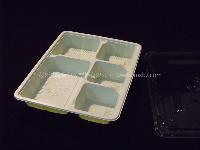 cmxbz-御饭盒 一次性 多格快餐盒 外卖酒店打包盒