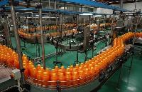 三合一果汁饮料灌装设备机器.热灌装包装生产线