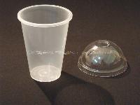 注500ML 一次性冷饮杯 奶茶杯 彩色广告杯