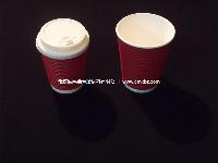 诚鸣鑫 8盎司一次性纸杯 绿色环保 热饮咖啡杯