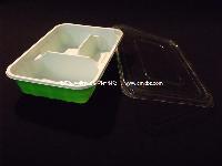 C18  一次性PP餐盒 多格餐盒  微波打包盒