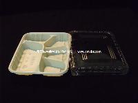 F35 一次性 pp塑料 快餐盒 饭盒 外卖餐 便当盒