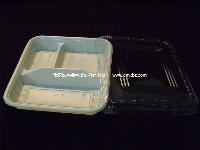 F1/1 一次性环保 多格快餐盒 打包盒 外卖盒
