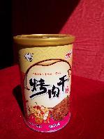 精品烤肉干香辣味铁罐装130克/罐价格实惠