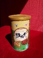 精品烤肉干五香味铁罐130克/罐价格实惠