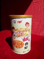 麻哥辣妹营养肉松精品铁罐装包物流