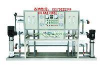 山东川一2t/h纯水净化设备反渗透水处理设备