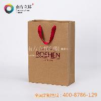 经典牛皮纸ROSHEN手提袋-M 精美纸袋
