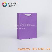 温州 厂家新款订制 2015年淡紫色彩卡手提袋 纸袋