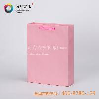 2015年 南方立邦 厂家优质批发 精美粉红彩卡 手提袋 纸袋