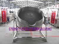 大洋制造可倾式夹层锅|自动熬粥锅